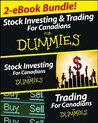 Stock Investing and Trading for Canadians eBook Mega Bundle For Dummies