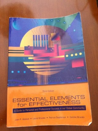 Essential Elements for Effectiveness