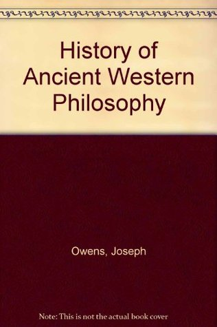 Free download A History of Ancient Western Philosophy PDF by Joseph Owens