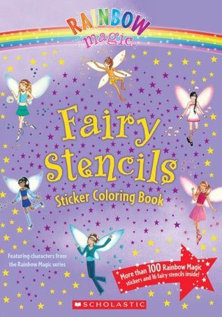 Fairy Stencils Sticker Coloring Book (Rainbow Magic)