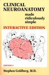 Clinical Neuroanatomy Made Ridiculously Simple [Book & CD-ROM]