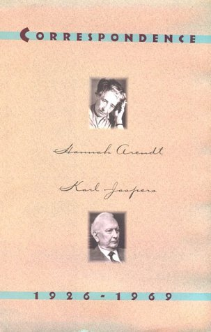 Correspondence 1926-1969 by Hannah Arendt