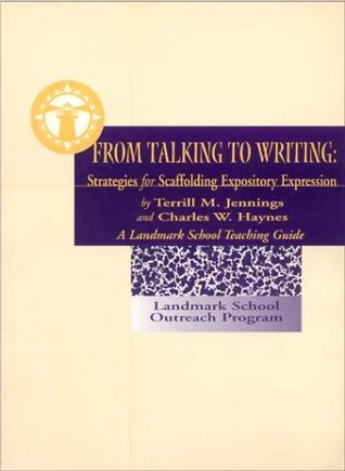 From Talking to Writing by Charles Haynes