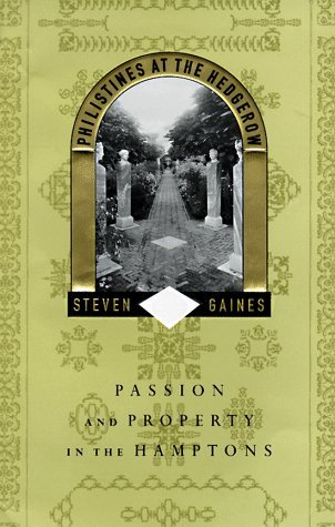 Philistines at the Hedgerow by Steven Gaines