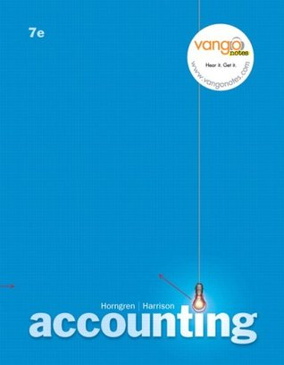 Accounting by Charles T. Horngren