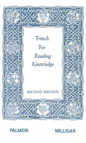 French for Reading Knowledge by Joseph Palmeri