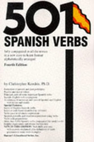 501 Spanish Verbs by Christopher Kendris