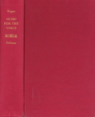 Music for the Voice, Revised Edition by Sergius Kagen