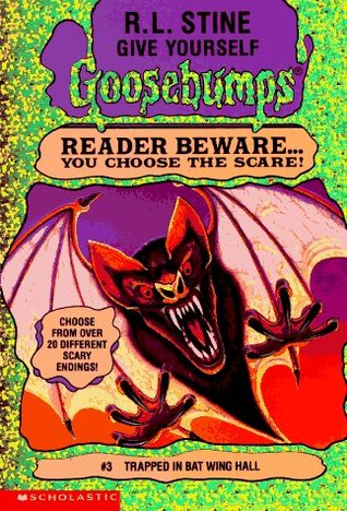 Trapped in Bat Wing Hall by R.L. Stine