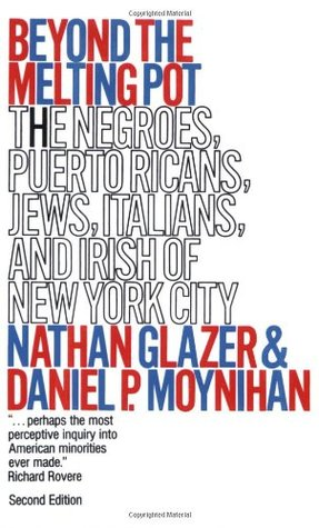 Beyond the Melting Pot: The Negroes, Puerto Ricans, Jews, Italians, and Irish of New York City