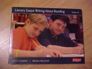 literary essays writing about reading Online writing lab roane state  using elements of literature students are asked to write literary analysis essays because this type of assignment encourages you.