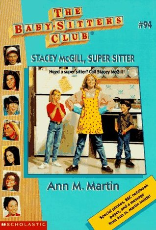 Stacey McGill, Super Sitter by Ann M. Martin