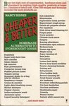Cheaper & Better: Homemade Alternatives to Storebought Goods