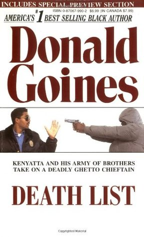 Death List by Donald Goines