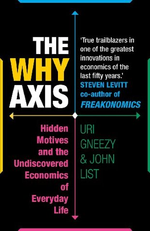 Download free The Why Axis: Hidden Motives and the Undiscovered Economics of Everyday Life PDF by Uri Gneezy, John List