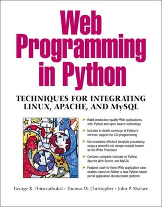 Web Programming in Python by George K. Thiruvathukal