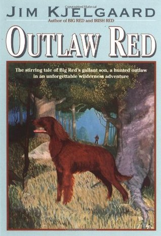 Outlaw Red by Jim Kjelgaard