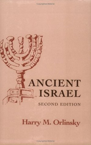 Ancient Israel by Harry M. Orlinsky