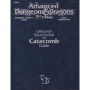 Dungeon Master's Guide Rules Supplement by Paul Jaquays