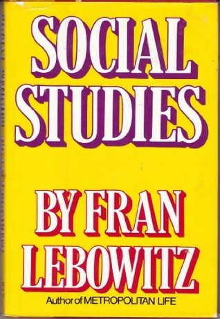Social Studies by Frances Ann Lebowitz