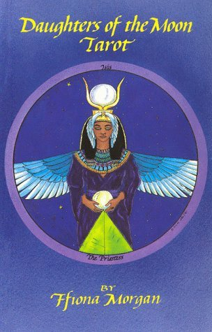 Daughters of the Moon Tarot Book by Ffiona Morgan