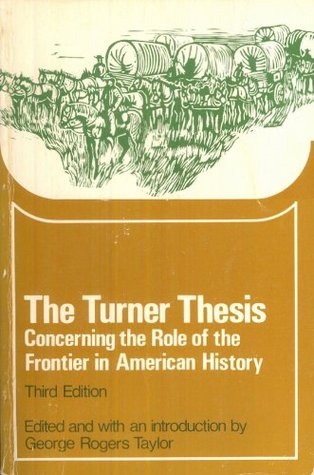 george rogers taylor the turner thesis