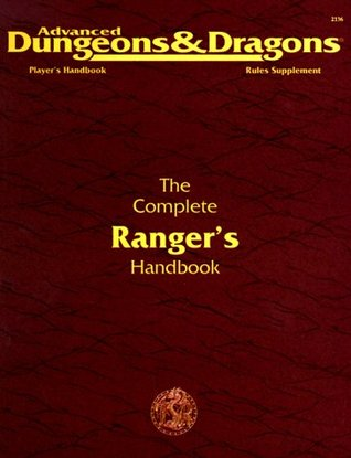 the complete ranger 39 s handbook advanced dungeons dragons 2nd edition player 39 s handbook rules. Black Bedroom Furniture Sets. Home Design Ideas