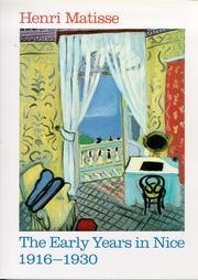 Download for free Henri Matisse: The early years in Nice, 1916-1930 ePub