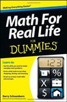 Math For Real Life For Dummies (For Dummies (Math & Science))