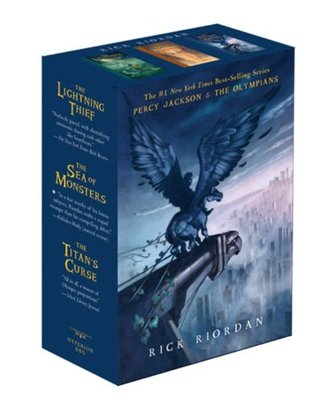 Percy Jackson and the Olympians Boxed Set (Percy Jackson and the Olympians, #1-3)