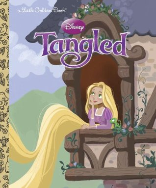 Disney Tangled (Little Golden Book)
