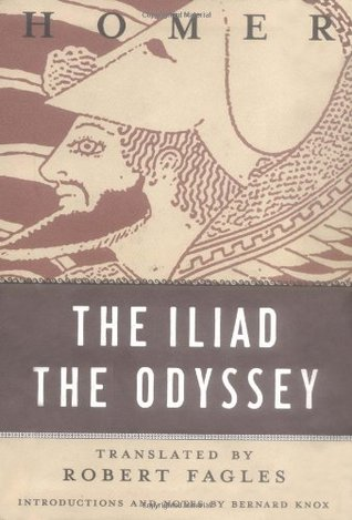 homer writes the iliad and the odyssey