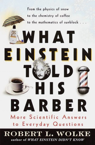 Barber Question : ... Barber: More Scientific Answers to Everyday Questions? as Want to