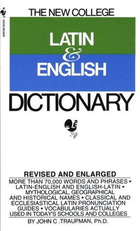 New College Latin And English Dictionary 81