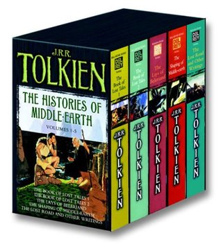 The Histories of Middle Earth, Volumes 1-5 by J.R.R. Tolkien