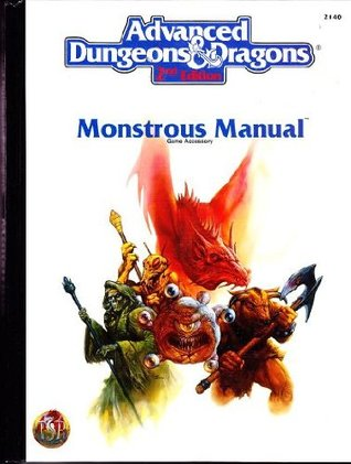 Monstrous Manual by Doug Stewart