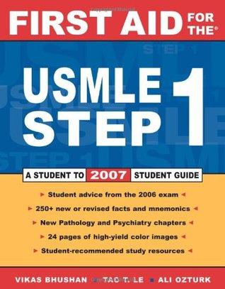 First Aid for the USMLE Step 1 by Vikas Bhushan
