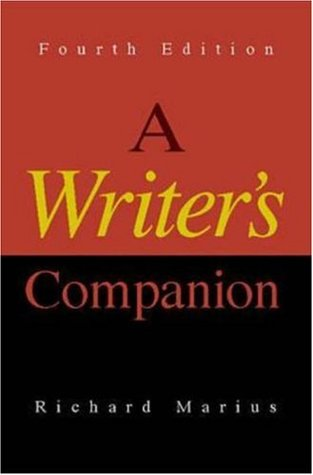 A Writer's Companion by Richard Marius