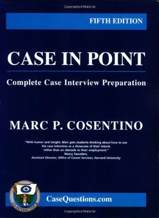 Case in Point by Marc P. Cosentino