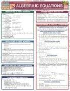 Algebraic Equations Laminate Reference Chart