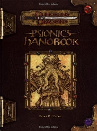 Psionics Handbook by Bruce R. Cordell