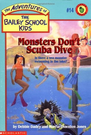 Monsters Don't Scuba Dive by Debbie Dadey