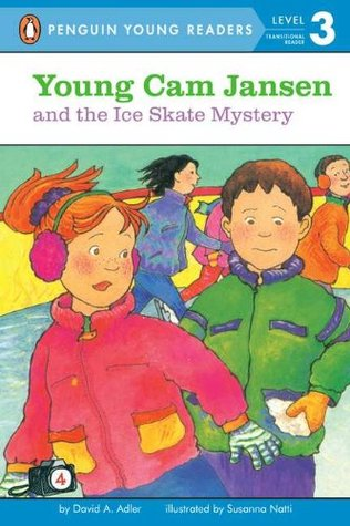 Young Cam Jansen and the Ice Skate Mystery (Young Cam Jansen Mysteries, #4)
