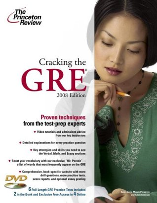 Cracking the GRE with DVD, 2008 Edition by Princeton Review