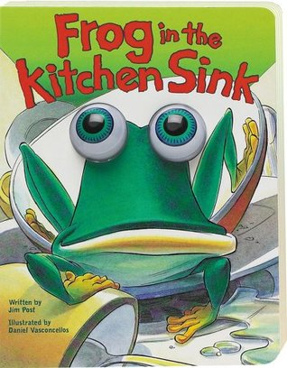Frog in the Kitchen Sink [Eyeball Animation] by Jim Post