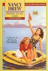 Trouble at Lake Tahoe by Carolyn Keene