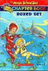 The Magic School Bus Chapter Book Boxed Set, Books 1-8: Penguin Puzzle, The Great Shark Escape, The Giant Germ, Twister Trouble, Space Explorers, The Wild Whale Watch, The Search for the Missing Bones, and The Truth About Bats