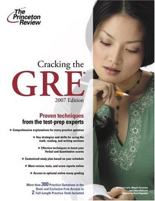 Cracking the GRE, 2007 Edition by Princeton Review