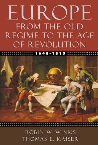 Europe, 1648-1815: From the Old Regime to the Age of Revolution