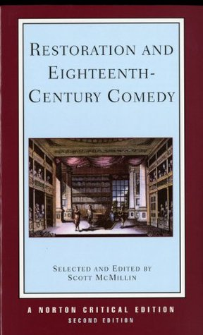 Restoration and Eighteenth-Century Comedy by Scott McMillin